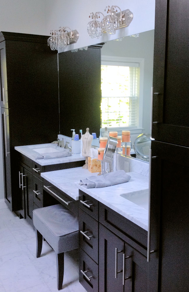Framingham, MA Bathroom Cabinetry By Carole
