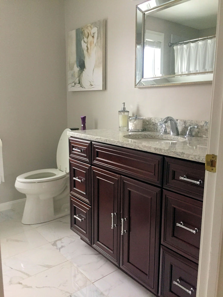 Woburn, MA Bathroom Cabinetry By Carole