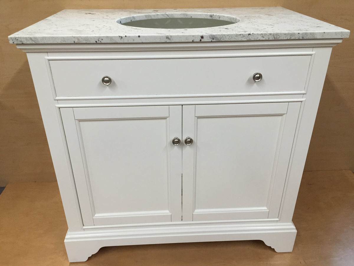 In stock bathroom vanities and bathroom cabinetry in for Bathroom vanities massachusetts