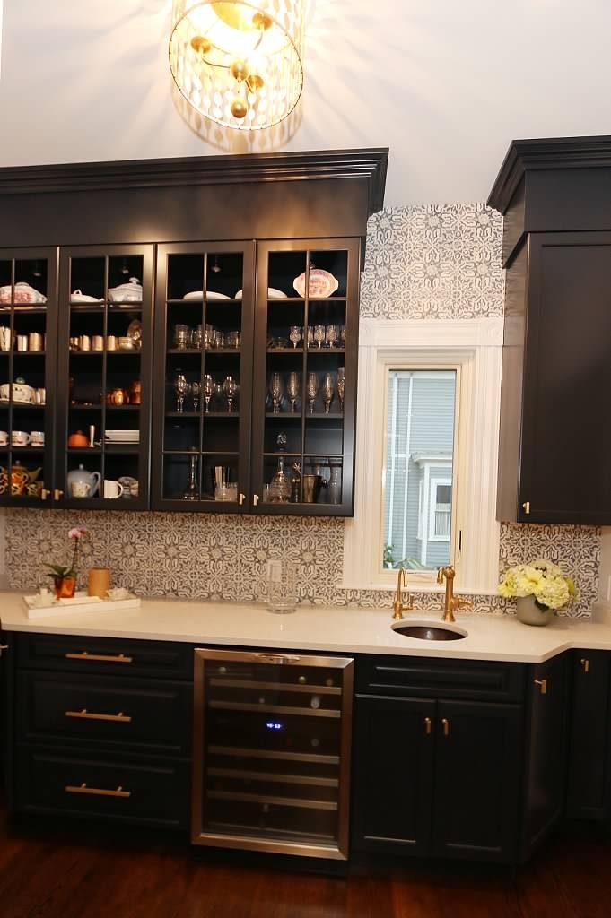 White Concrete Kitchen Sink