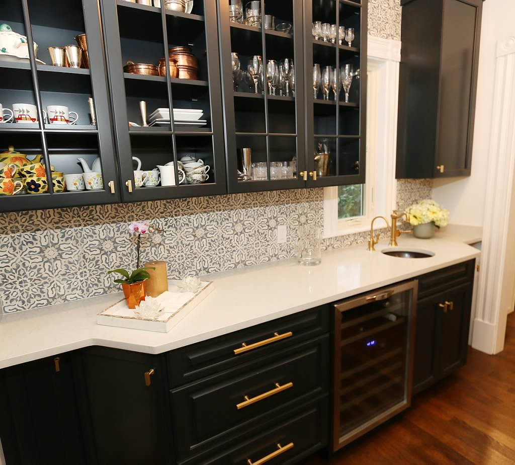 Kitchen Butlers Pantry Historic Newton Ma Home Kitchen Bathroom Remodel By Carole