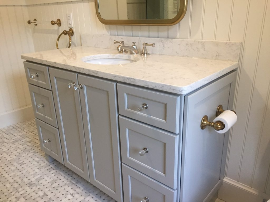 Falmouth, MA custom-order Carole's vanity