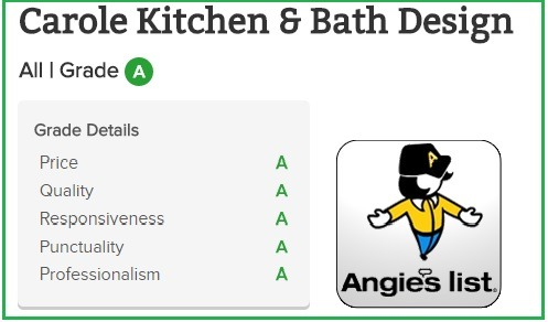 Angies 2017 A Rating Carole Kitchen And Bath Kitchen People